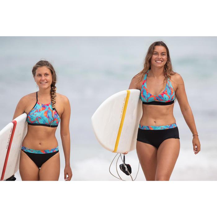 Bikini-Hose Shorty Vaiana Walis mit Kordelzug Surfen Damen