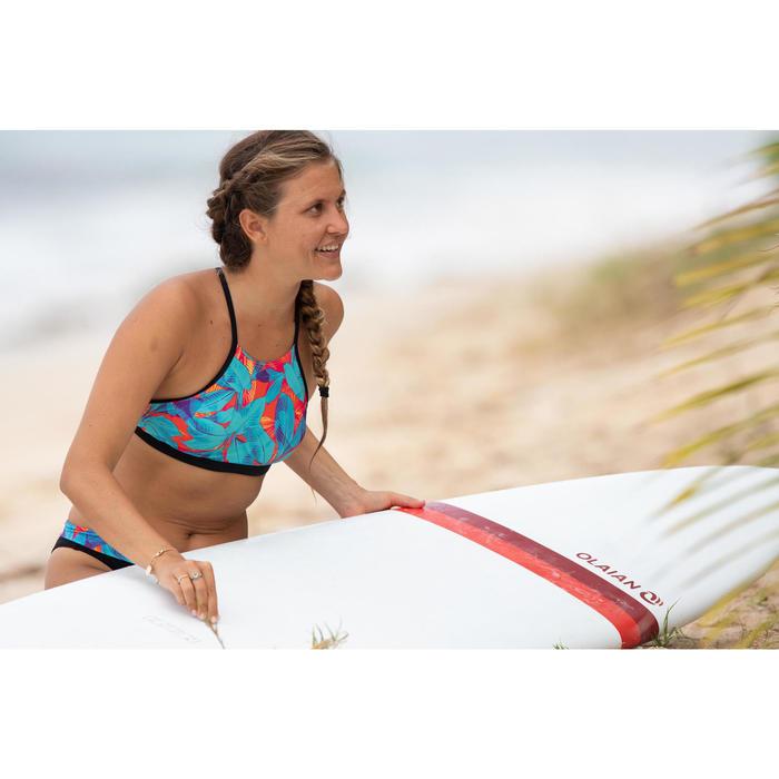Bikini-Oberteil Bustier Andrea Walis Surfen Damen