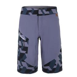 MEN'S HIGH-TECH BERMUDA BLOCKSHORT ASPHALT GREY