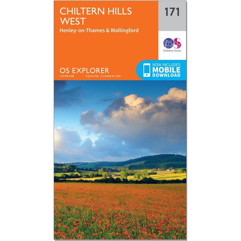 OS Explorer Map - 171 - Chiltern Hills West