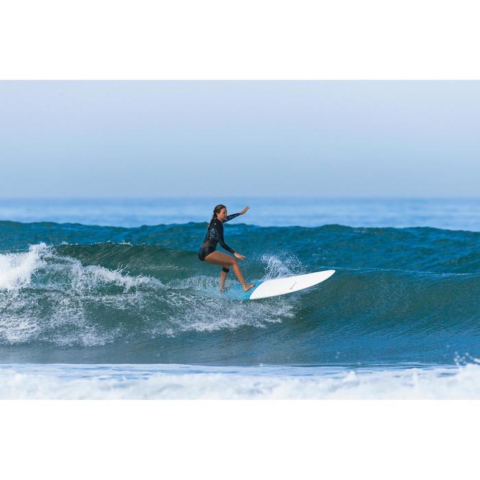 Shorty voor surfen dames frontrits lange mouwen