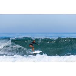 Surfshorty dames lange mouwen met rits vooraan
