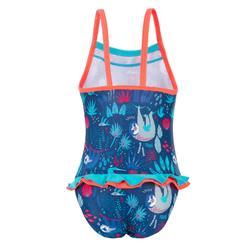 Badeanzug Madina Baby Print dunkelblau