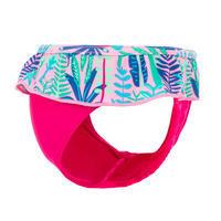 Baby One-Piece Briefs Swimsuit Bottoms - Pink Print