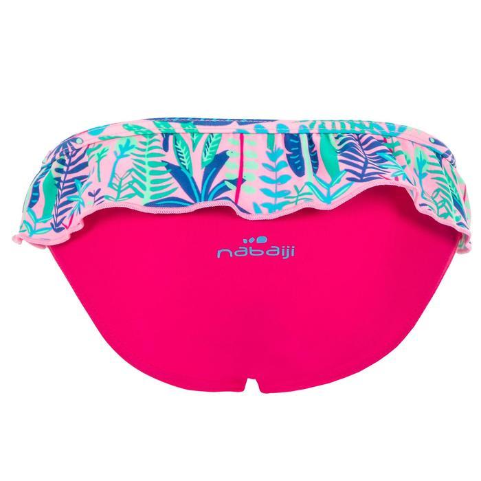 Bas de maillot de bain une pièce culotte bébé imprimé rose