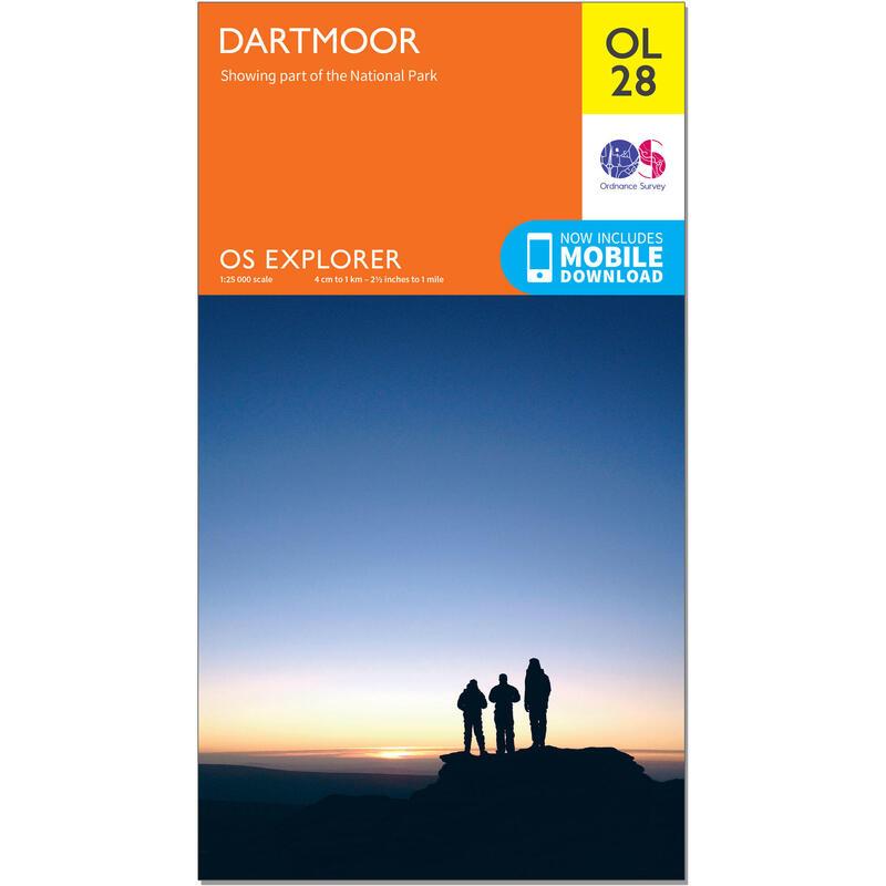 OS Explorer Leisure Map - OL28 - Dartmoor