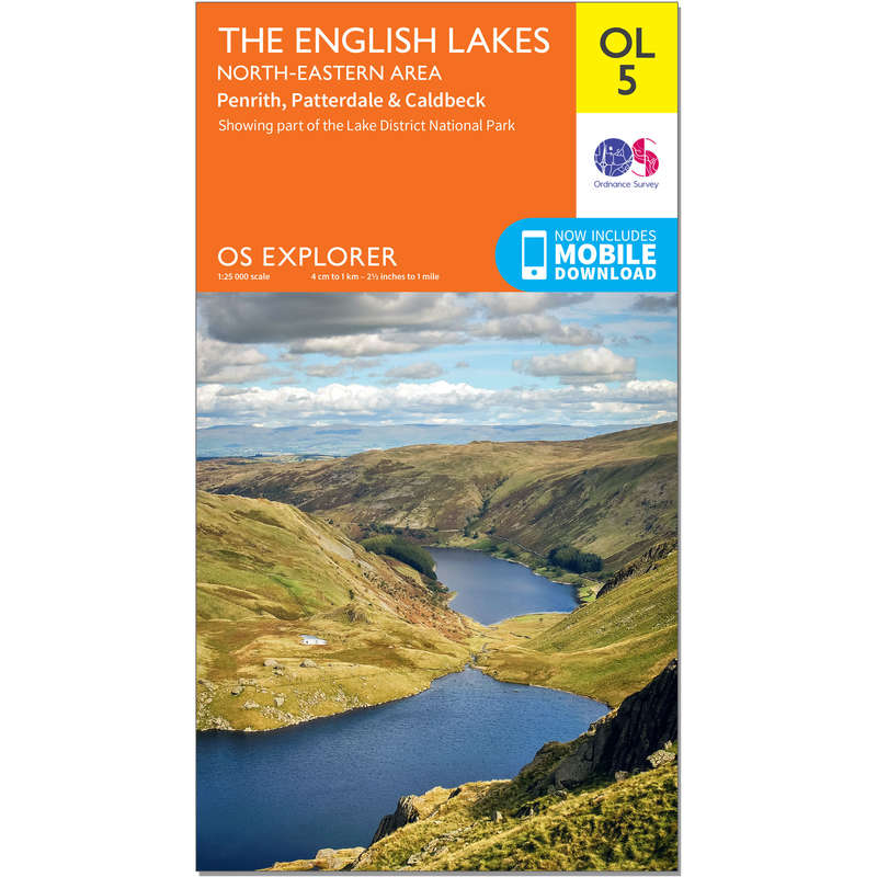 MAPS HIKING/TREK Hiking - OS Explorer Leisure Map - OL5 - The English Lakes - North Eastern ORDNANCE SURVEY - Hiking Gear