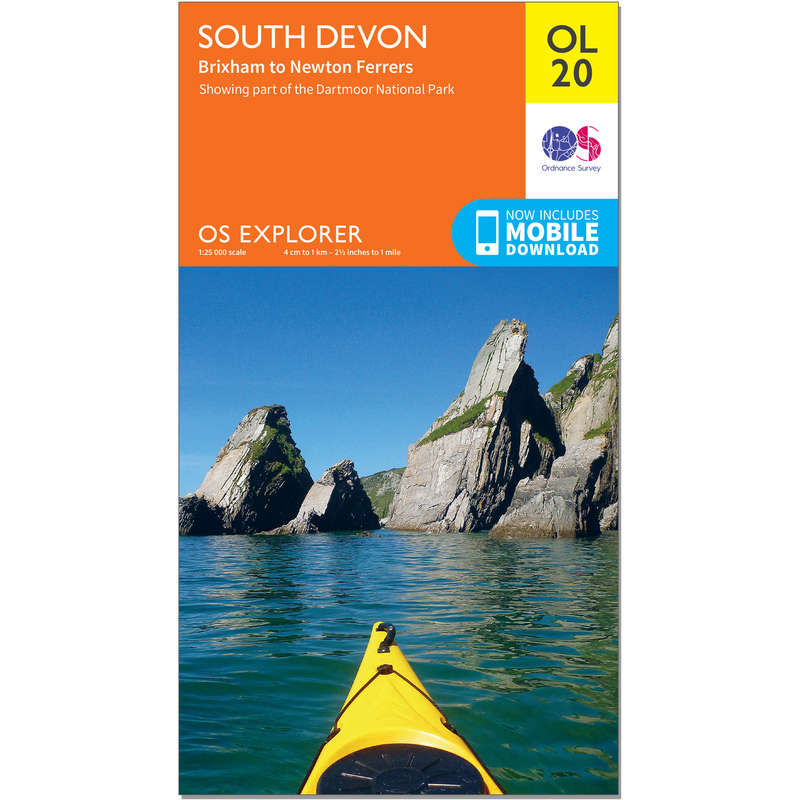 MAPS HIKING/TREK Hiking - OS Explorer Leisure Map - OL20 - South Devon ORDNANCE SURVEY - Hiking Gear and Equipment