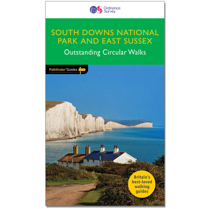 MAPS HIKING/TREK Hiking - Pathfinder Guide - East Sussex & The South Downs ORDNANCE SURVEY - Hiking Gear