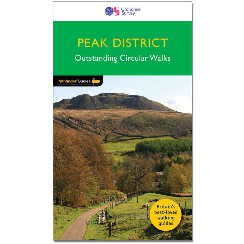 MAPS HIKING/TREK Hiking - Pathfinder Guide - Peak District ORDNANCE SURVEY - Hiking Gear and Equipment