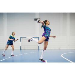Chaussettes de handball high adulte H500 blanc