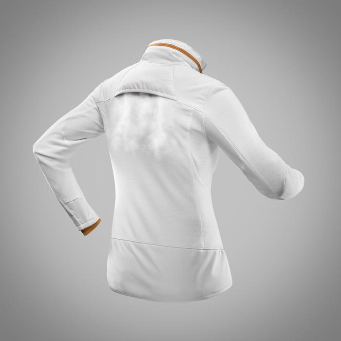 Fleece vest dames SH500 X-warm wit