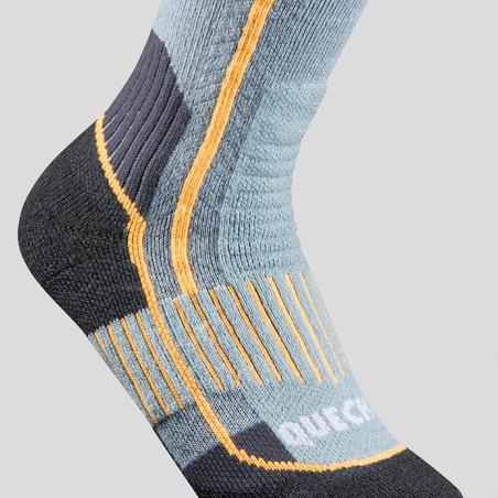 Дитячі шкарпетки 520 X-Warm для зимового туризму - Сині/Сірі