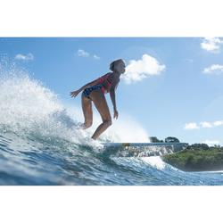 Bikini-Hose Niki Mawa seitlich gerafft Surfen Damen