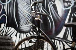 Stadsfiets Elops 300 zwart - 166026