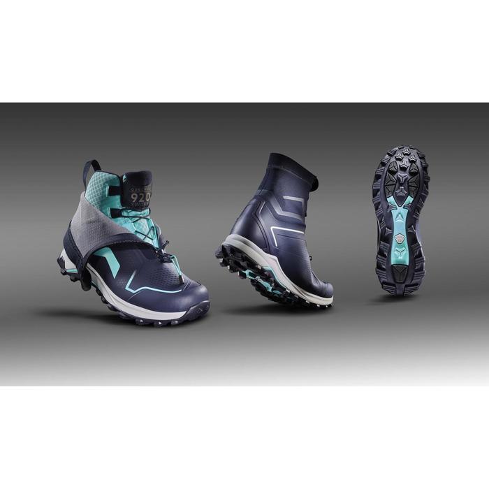 Wandelschoenen voor dames SH920 X-Warm blauw