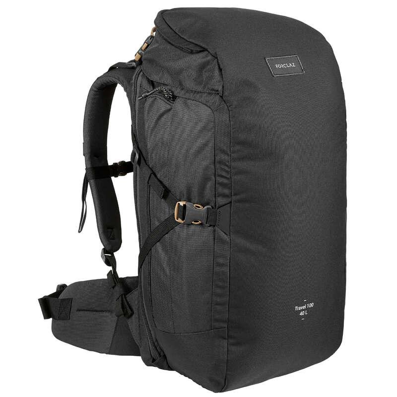 Travel Backpack - Hátizsák TRAVEL 100 FORCLAZ