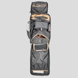 Sac à dos compact 40 litres de trek voyage - TRAVEL 100 noir