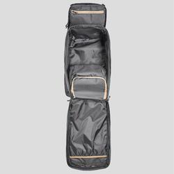Sac à dos compact 40 litres de trek voyage - TRAVEL 100 noir - unisexe