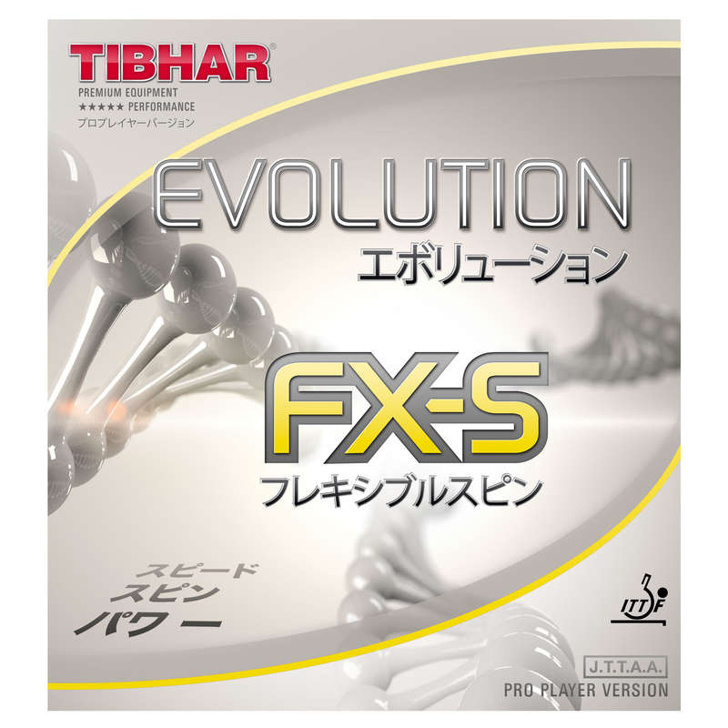 ACADEMIC BLADES & RUBBERS Table Tennis - Evolution FX-S Rubber TIBHAR - Table Tennis Accessories