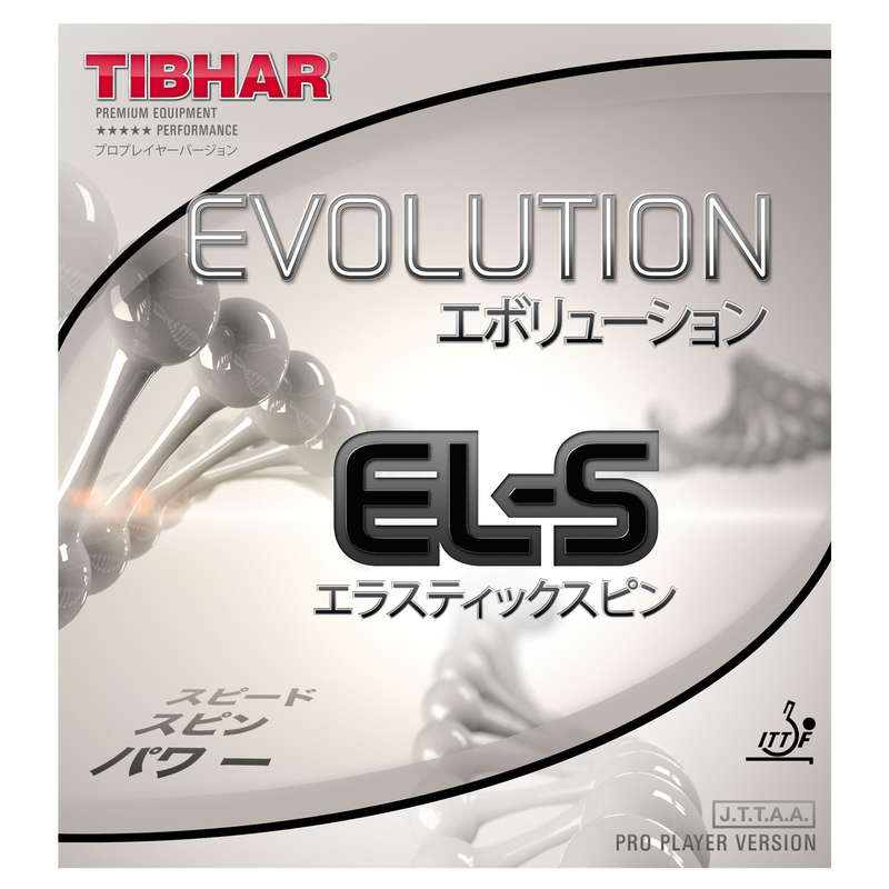 RACKETAR/GUMMIN/TILLBEHÖR FÖR BORDTENNIS Racketsport - Gummi Tibhar Evolution EL-S TIBHAR - Bordtennis