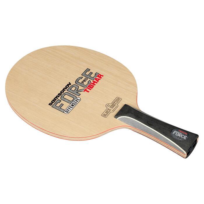 Schlägerholz Tischtennis Force Pro Black Edition