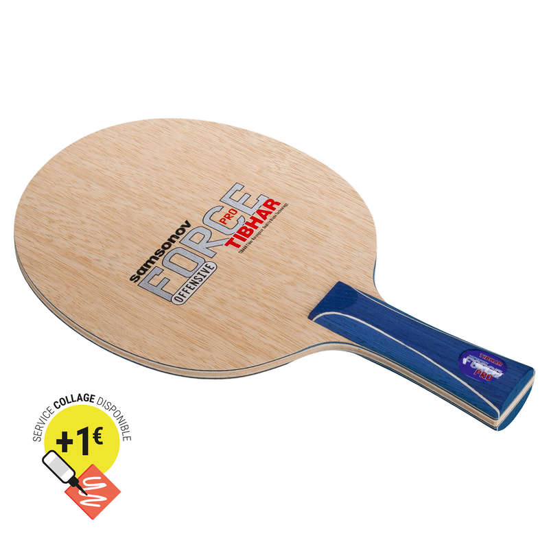 ACADEMIC BLADES & RUBBERS Table Tennis - Samsonov Force Pro Blade TIBHAR - Table Tennis Accessories
