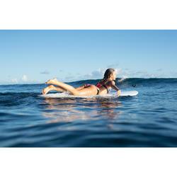 Bas de maillot de bain de surf femme plissée côté NIKI ALOHA