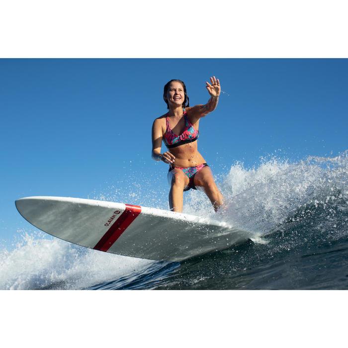 Bikini-Hose Niki Aloha seitlich gerafft Surfen Damen