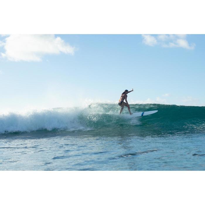 Bikinibroekje met hoge taille en omslag Nao Aloha