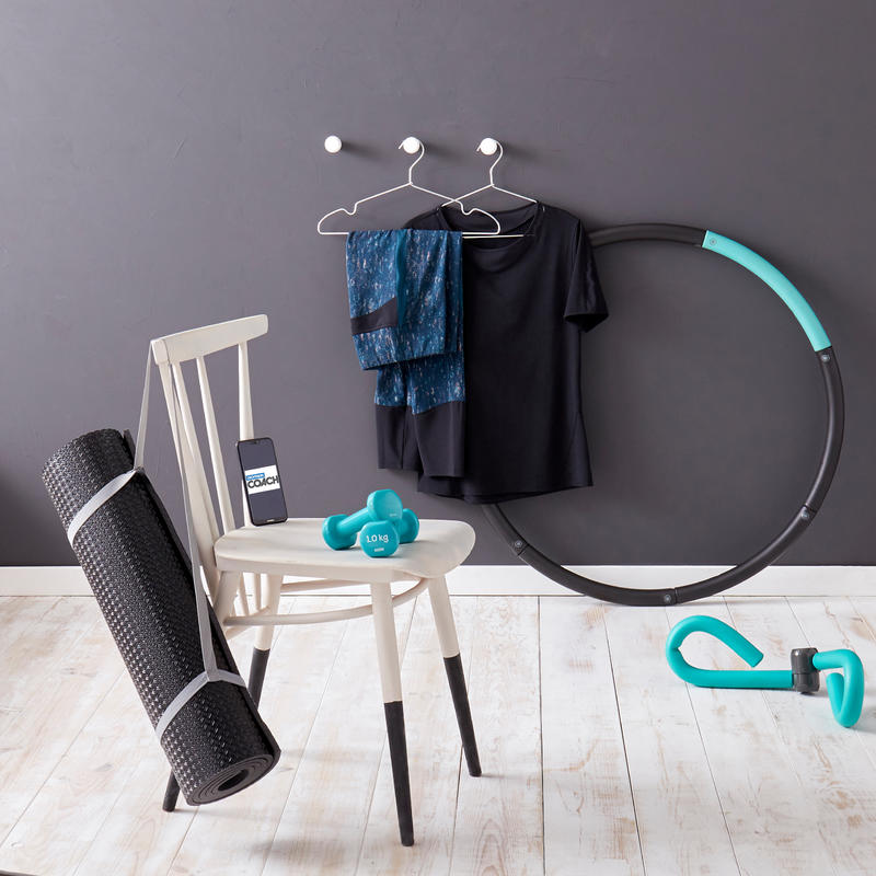 Pilates Toning Dumbbells Twin-Pack 1 kg