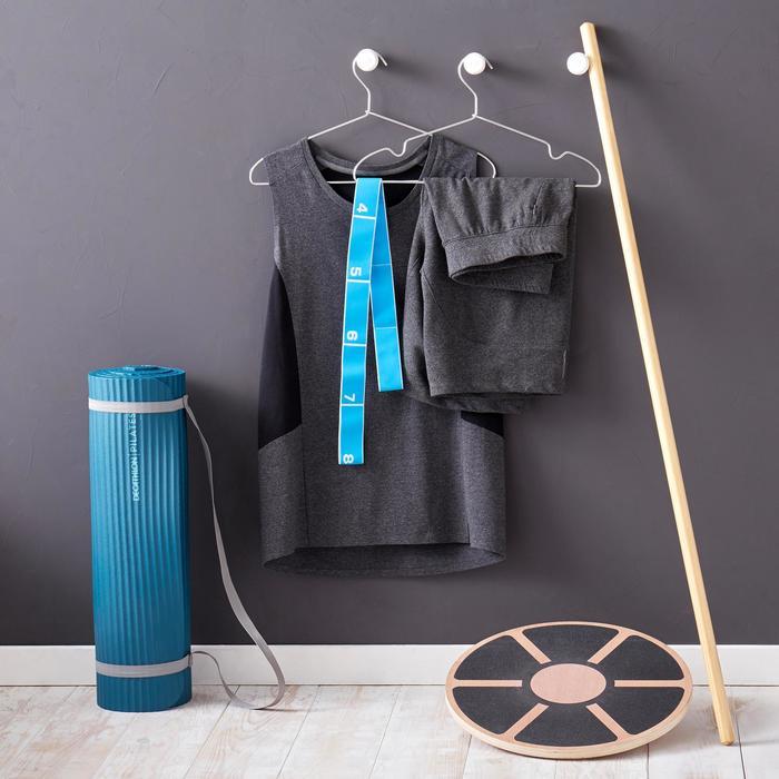 Fitnessmat pilatesmat Comfort S grijs 170 cm x 55 cm x 10 mm