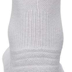 Calcetines ADULTO de marcha deportiva/nórdica WS 100 Mid blanco