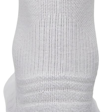 WS 100 Mid kids' fitness walking socks - white 3 pairs