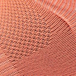 Chaussettes marche sportive WS 500 Fresh Invisible corail