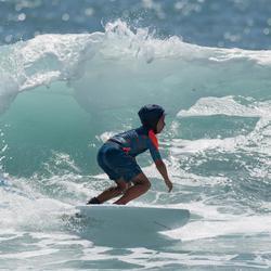 Bañador Largo Surf Olaian 900 Tween Full Petrol Niño Azul