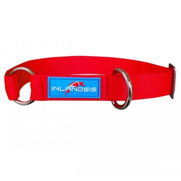 Verstelbare hondenhalsband Summit rood
