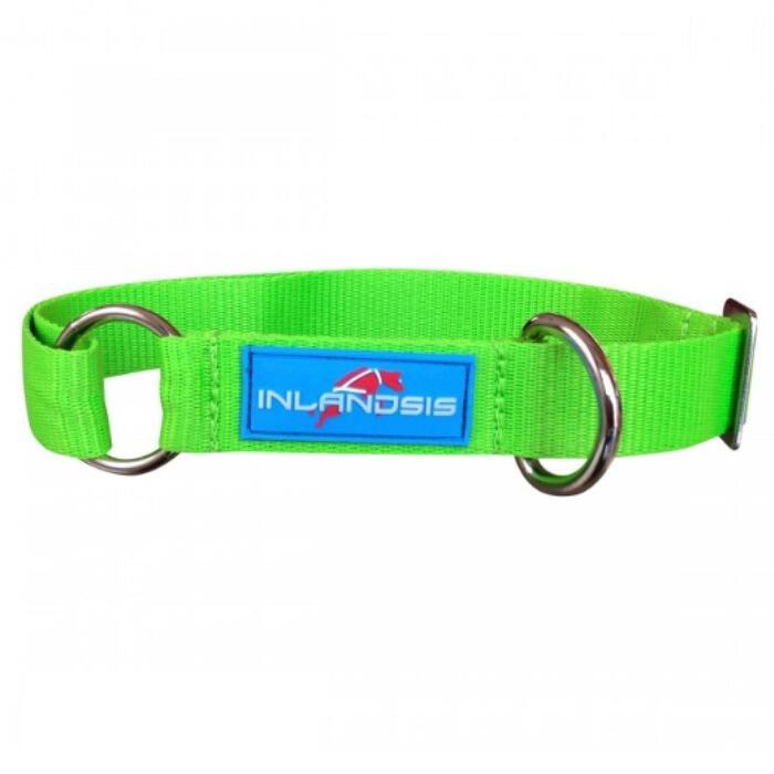 Verstelbare hondenhalsband Summit groen