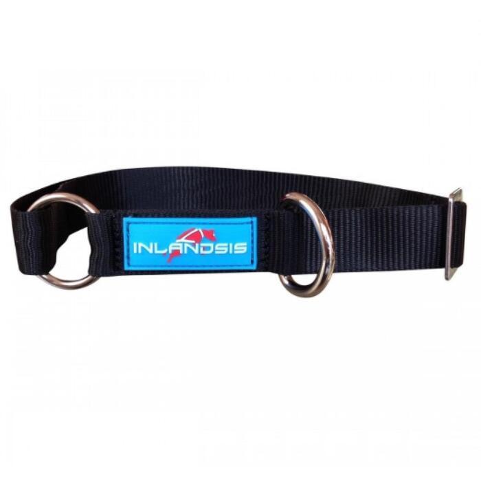 Verstelbare hondenhalsband voor canicross Summit zwart