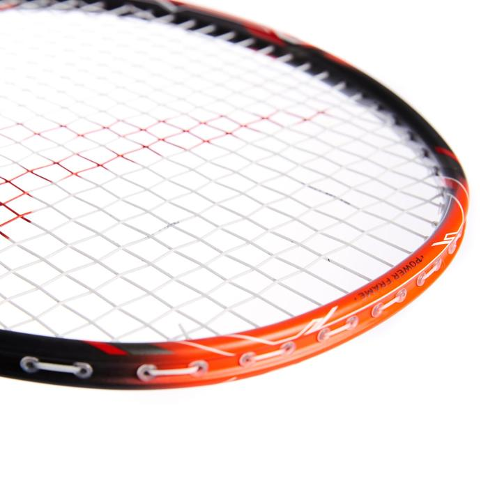 Badmintonracket voor volwassenen BR 900 Ultra Lite P rood