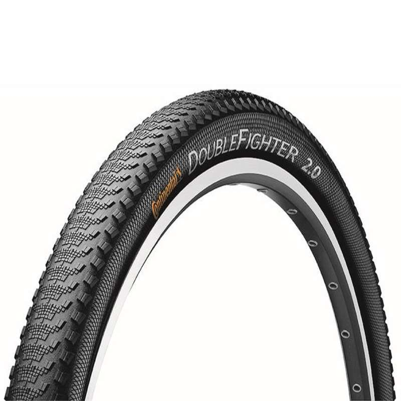 MIXTE TERRAIN MTB TYRES Cycling - Double Fighter 2.0 Tyre - 27.5 CONTINENTAL - Cycling