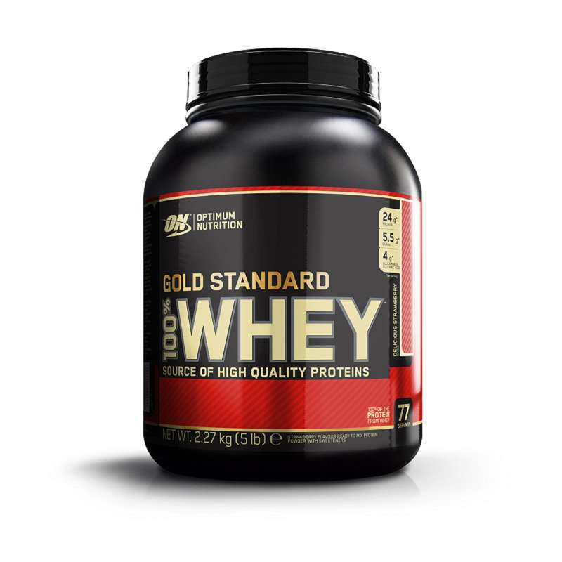 PROTEİNLER VE BESİN TAKVİYELERİ - ON Whey Strawberry 2.2 kg OPTIMUM NUTRITION