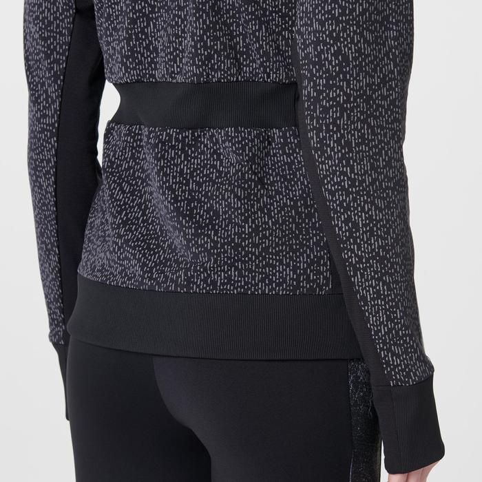 VESTE RUN WARM NIGHT FEMME NOIR