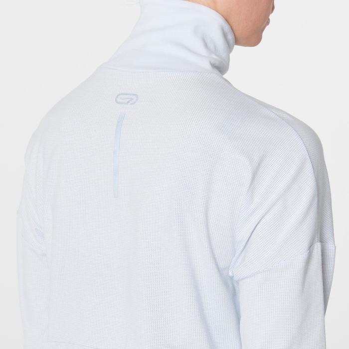 Shirt met lange mouwen Run Dry Plus dames grijs