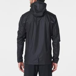 男款跑步防雨外套Run Rain Breath - 黑色