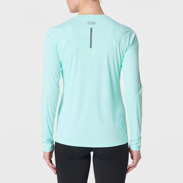 Laufshirt langarm Run Sun Protect Damen mint
