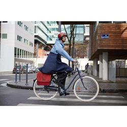 Regenponcho voor de fiets 900 blauw/marineblauw