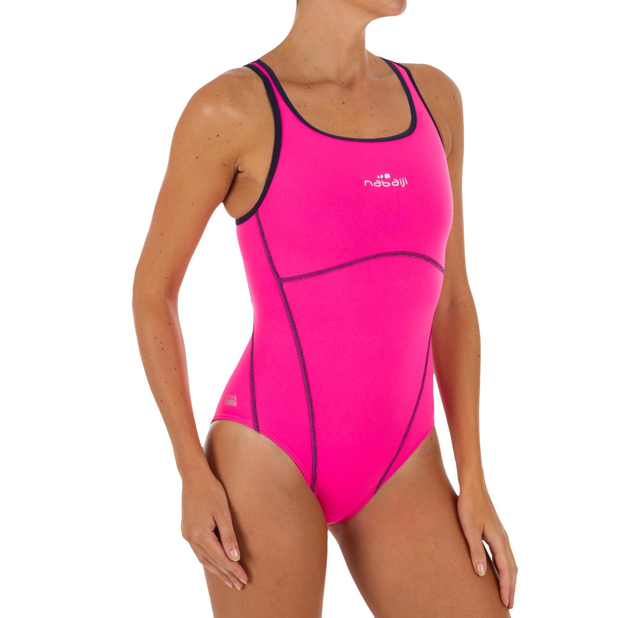 baaa1e506e615a Badeanzug Kamiye+ Damen pink