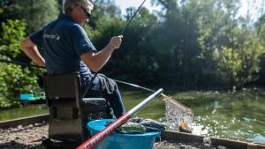 débuter la pêche au coup