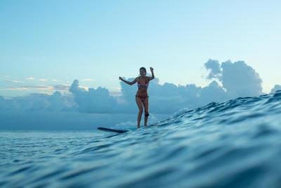 Mae Women's Sliding Triangle Swimsuit Top - Guarana